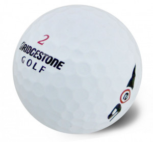 2016 Bridgestone E6 golf balls