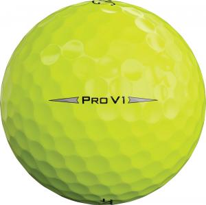 Titleist Pro V1 Yellow