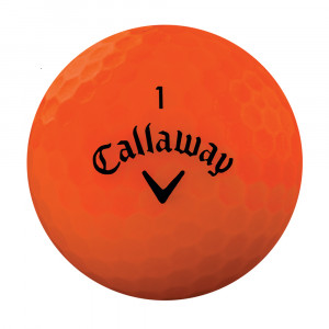 Callaway Orange Golf Balls