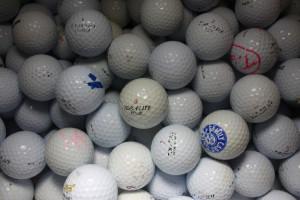 Cheap Practice Grade Golf Balls