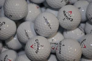 Mixed Callaway Golf Balls