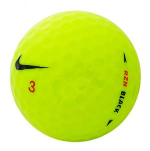 Nike RZN Black Yellow Golf Balls