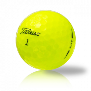 Titleist AVX Yellow