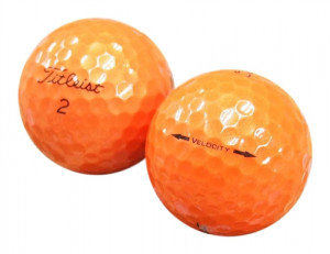 Titleist Velocity Orange
