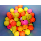 100 Mixed Colour Golf Balls