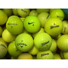 premium yellow golf balls